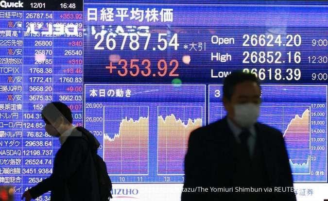 Mulai rebound, Bursa Asia kompak menguat pada pagi ini (10/6)