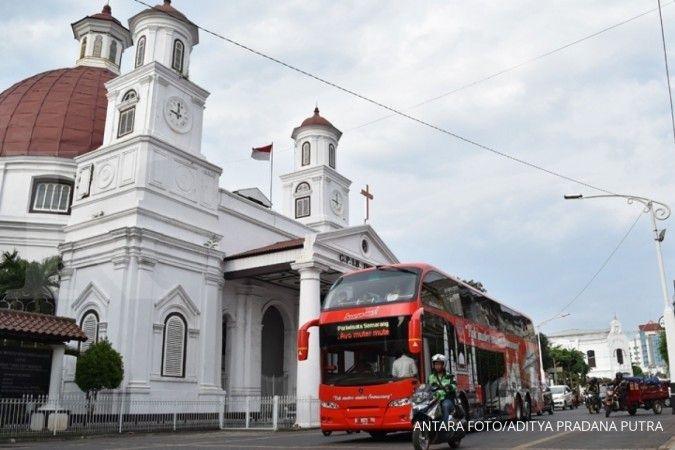 Cuaca hari ini di Jawa dan Bali: Semarang berawan, Surabaya cerah
