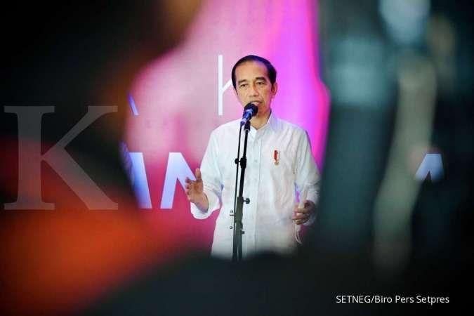 Jokowi umumkan pembayaran THR dan gaji ke-13 ASN