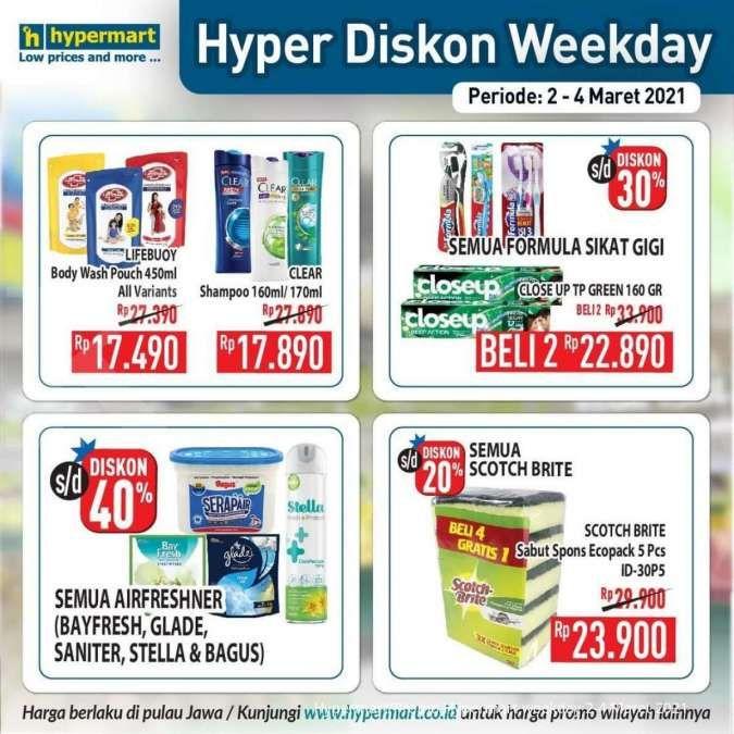 Promo Hypermart weekday 2-4 Maret 2021