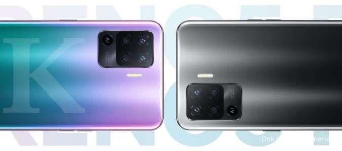 Spesifikasi & harga HP OPPO Reno5 F terbaru, RAM 8GB, kamera 48MP, hanya Rp 4 jutaan