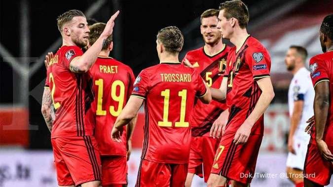 Jadwal Euro 2021 Belgia vs Rusia: Setan Merah tertatih jelang lawan skuad Sbornaya