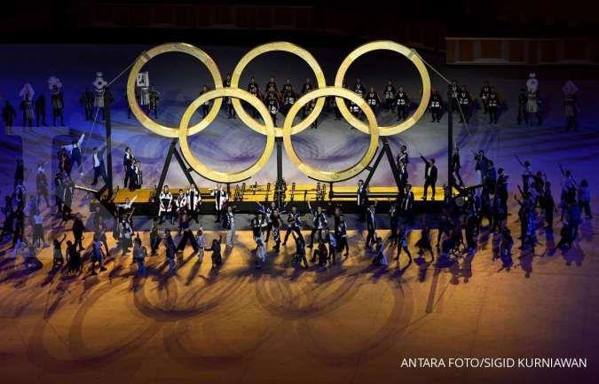 Pembukaan Olimpiade Tokyo ditonton 16,7 juta pemirsa TV, terendah dalam 33 tahun
