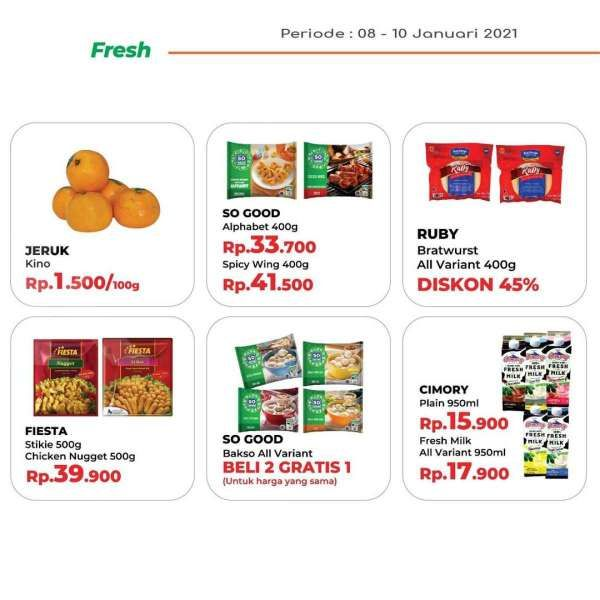 Promo JSM Yogya Supermarket 8-10 Januari 2021
