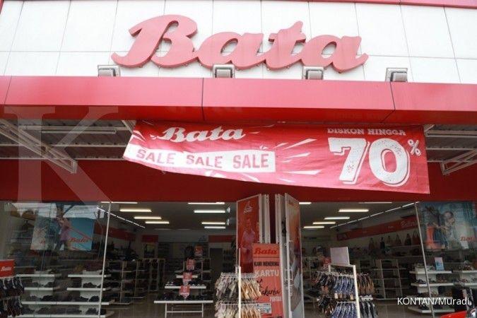 Tahun ini, Sepatu Bata (BATA) targetkan pendapatan double digit