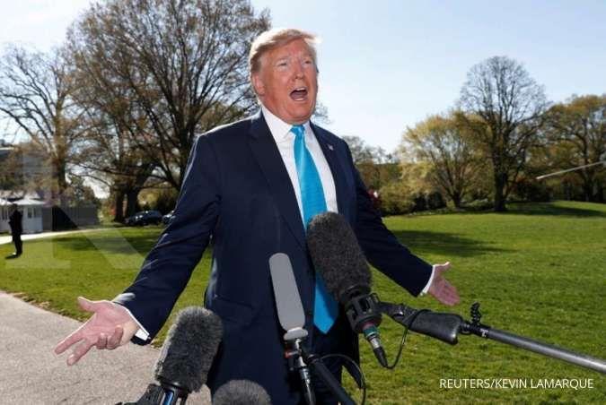 Terungkap dari data pengembalian pajak 1985-1994, bisnis Trump merugi US$ 1 miliar
