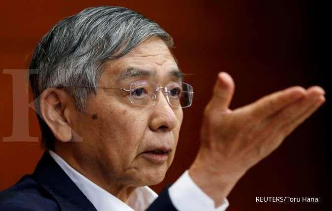Gubernur BOJ Haruhiko Kuroda. REUTERS/Toru Hanai/File Photo