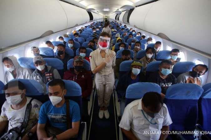 Syarat perjalanan kereta api, pesawat terbang dll di PPKM level 2, 3, 4 Jawa Bali