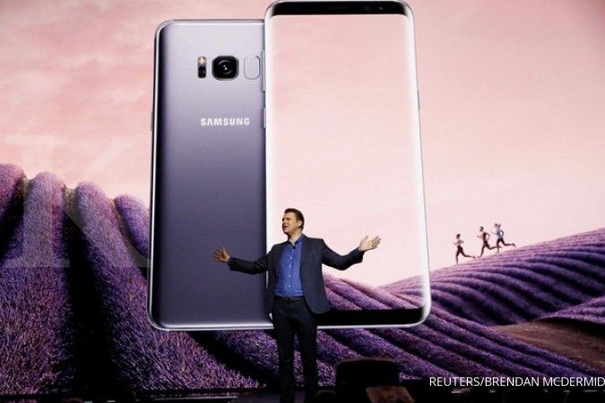 ILUSTRASI: Samsung Galaxy S8 and S8+ smartphones