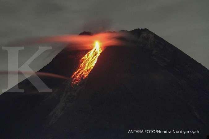 Gunung Merapi kembali luncurkan awan panas sejauh 1.500 meter ke arah barat daya