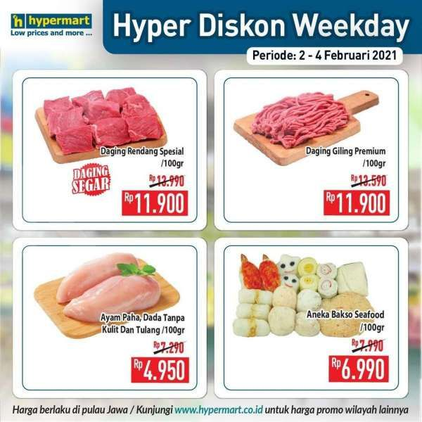 Promo Hypermart weekday 2-4 Februari 2021