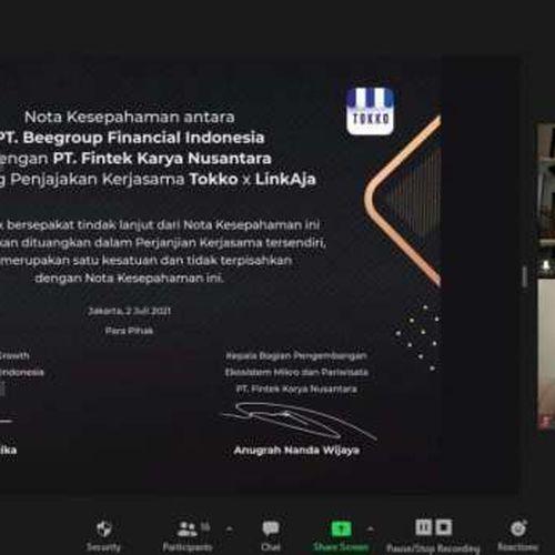 Kolaborasi Tokko dan LinkAja Dorong Inklusi Digital bagi Pelaku UMKM Indonesia