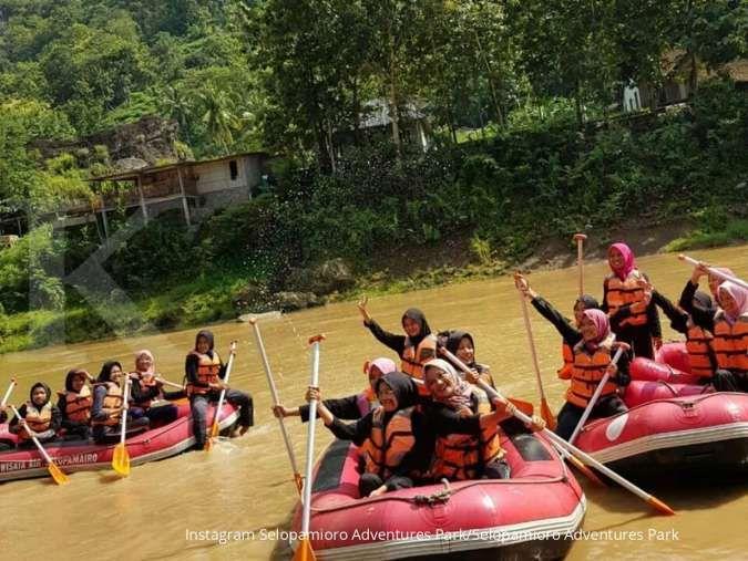 Selopamioro Adventures Park, destinasi wisata yang memicu adrenalin