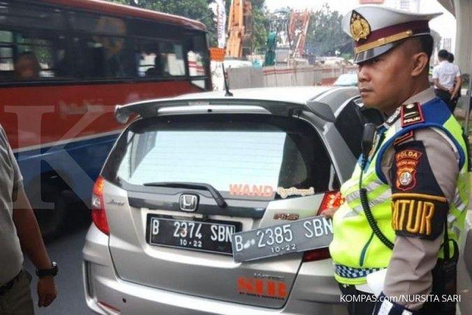 Mulai 3 Agustus ganjil genap berlaku lagi di 25 ruas jalan Jakarta, ini daftarnya