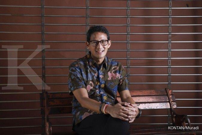 Sandiaga Uno sebut harga makanan di Indonesia lebih mahal dua kali lipat dari India