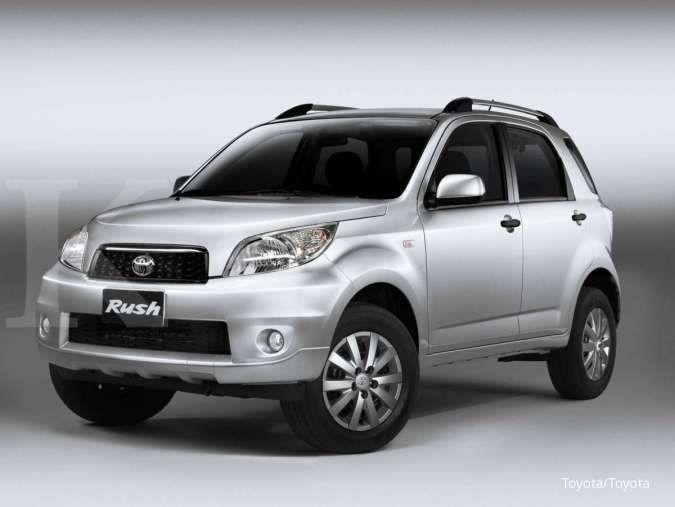 Harga mobil bekas Toyota Rush sekarang mulai Rp 100 jutaan untuk varian ini