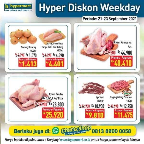 Promo Hypermat Hyper Diskon Weekday 21-23 September 2021