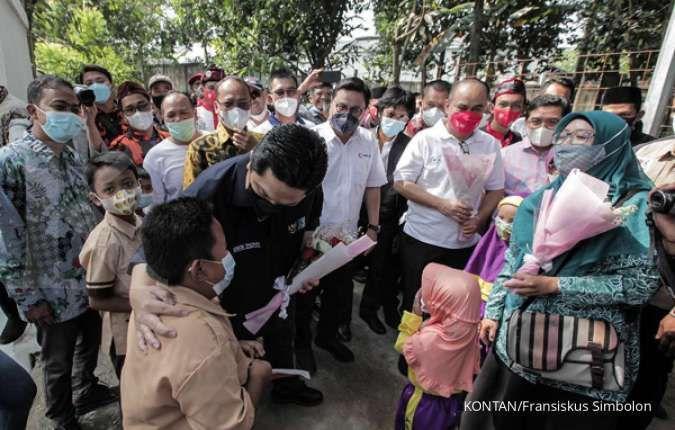Erick Thohir menemui Ridwan Kamil, apa yang dibicarakan?