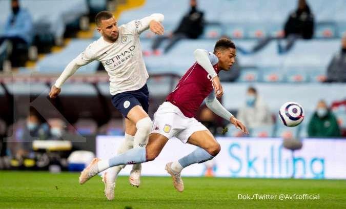 Aston Villa vs Man City: Tekuk The Villa 1-2, The Citizens aman di pucuk Liga Inggris