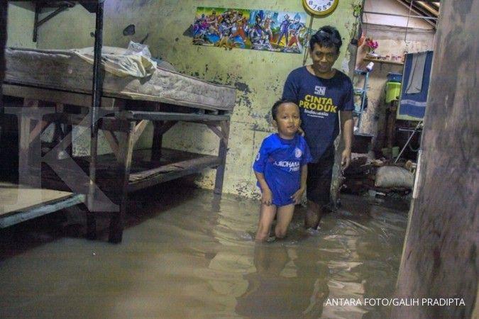Jadi langganan banjir, Warga Cipinang Melayu desak Anies normalisasi kali Sunter