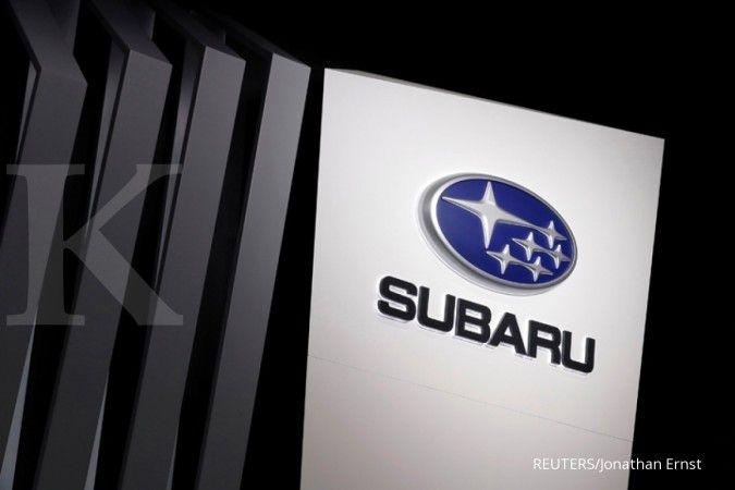 Gambar paten bocor, Subaru siap rancang sepeda motor terbang