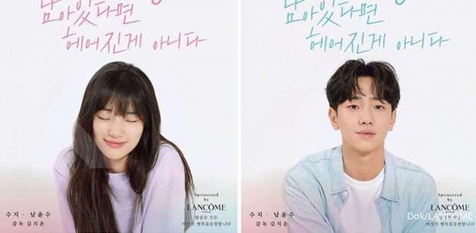 Suzy dan Nam Yoon Soo aktor Extracurricular dipasangkan di film pendek, ini posternya