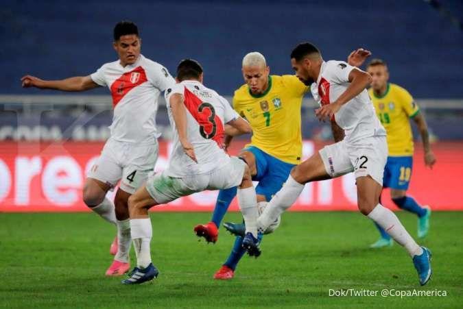 Richarlison tampil moncer bersama Brasil, Carlo Ancelotti rayu pindah ke Real Madrid