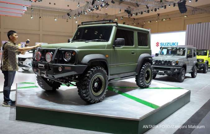Bocoran produk terbaru Suzuki, ada Jimny Hybrid dan Wagon R EV