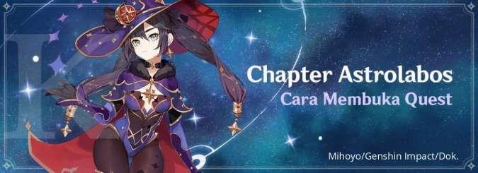 Cara membuka quest Chapter Astrolabos Genshin Impact
