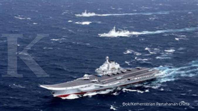 Semakin tegang! Kapal induk AS dan China sama-sama