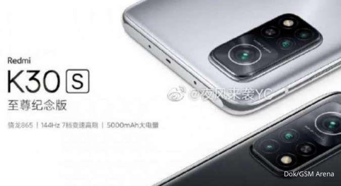 Siap-siap, Xiaomi akan luncurkan Redmi K30S pada 27 Oktober 2020