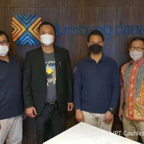 Kerjasama Gotong Royong Cashlez dan Fintech Berizin P2P Lending Lumbung Dana