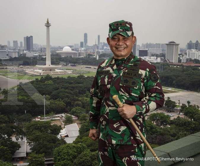 Ada 30 perwira tinggi TNI naik pangkat, termasuk Pangkostrad Dudung Abdurachman