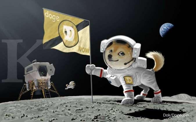 Harga Dogecoin menuju Rp 45.000, ini sentimen yang