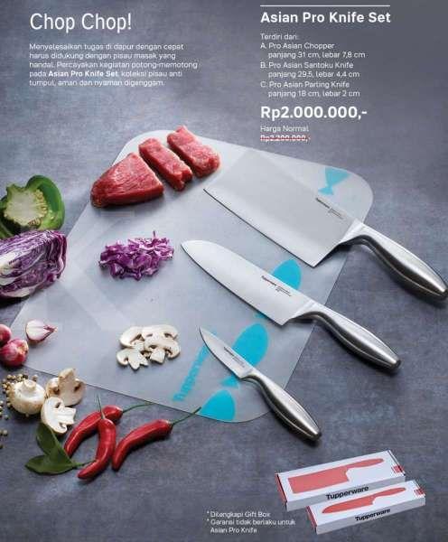 Katalog promo Tupperware September 2020, ada potongan harga untuk pisau