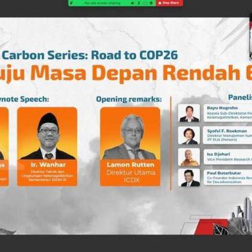 ICDX Siap Mendukung Pemerintah Dalam MenyelenggarakanPasar Karbon di Indonesia