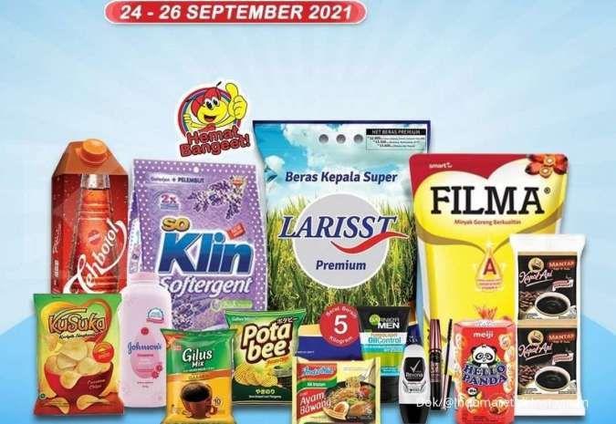 Promo JSM Indomaret sampai 26 September, jangan lewatkan promo di Sabtu dan Minggu