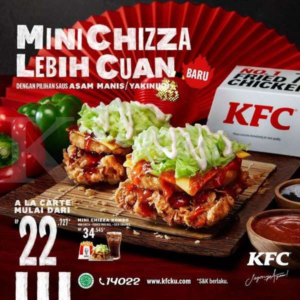 Promo KFC Mini Chizza