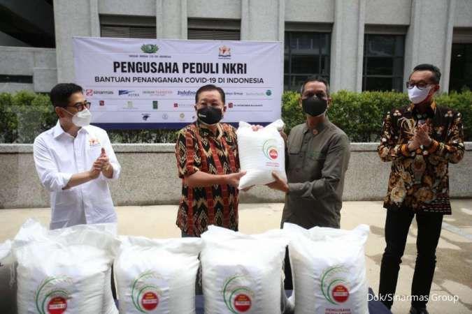 Pengusaha Peduli NKRI memberi bantuan corona lebih dari Rp 600 miliar