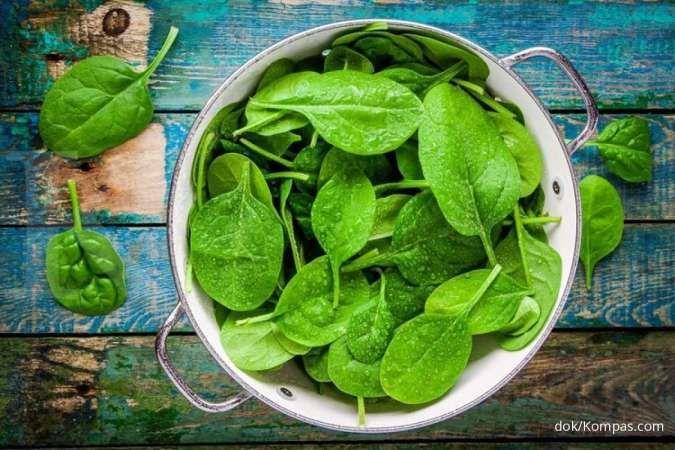 7 Manfaat bayam untuk kesehatan: Bagus untuk tulan