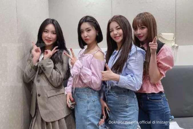 Brave Girls menjadi girl group terbaik kalahkan BLACKPINK di bulan Mei 2021.