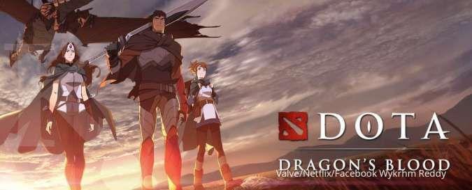 Anime Netflix adaptasi game DOTA 2 - DOTA: Dragonss Blood