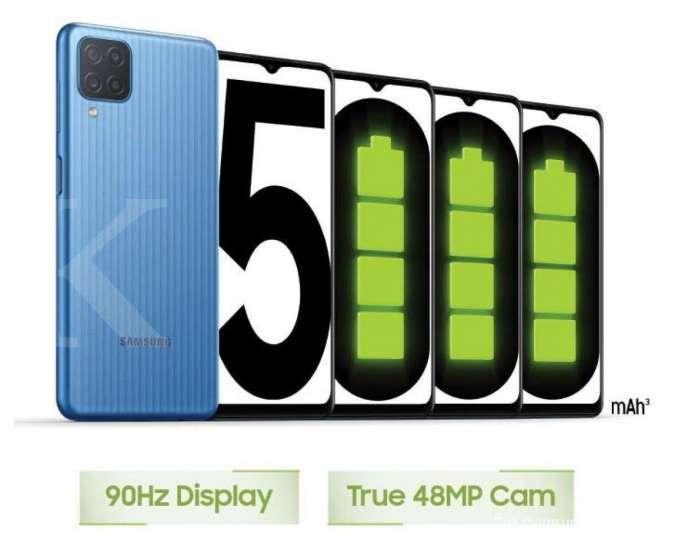 Bisa dipesan mulai hari ini, berikut spesifikasi dan harga HP Samsung M12