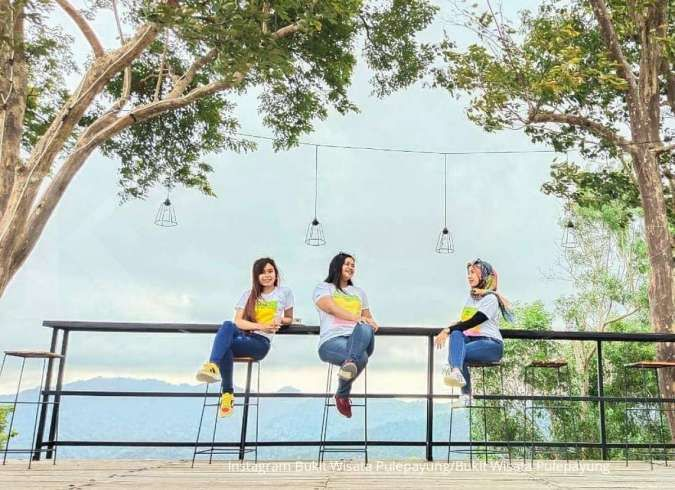 Bukit Wisata Pulepayung, rekomendasi tempat wisata kekinian di Kulon Progo