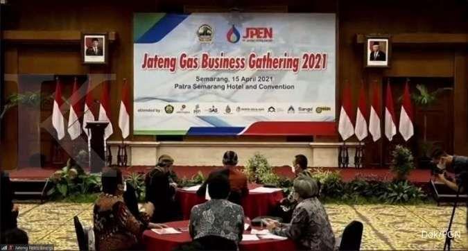 Amankan pasokan gas bumi, PGN tandatangani MoU dengan JPEN