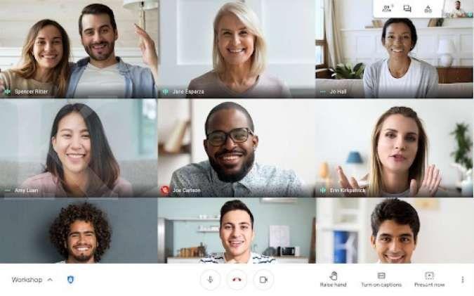 Google Meet tambahkan fitur yang mempermudah bertanya saat kelas online