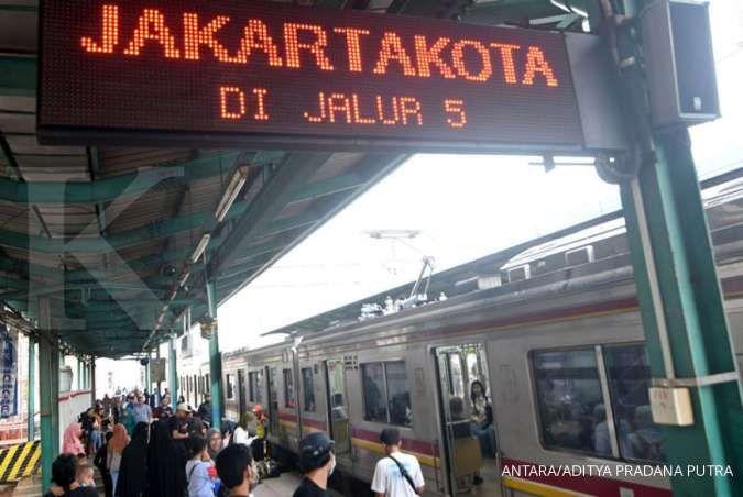 Catat, sejumlah perjalanan KRL ini dibatalkan saat uji coba double track