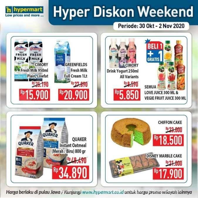 Promo Jsm Hypermart Hari Ini 31 Oktober 2020 Diskon Weekend