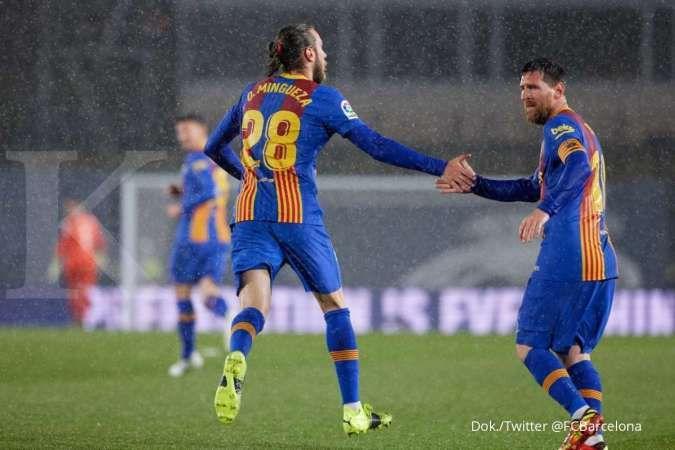 Hasil El Clasico antara Real Madrid vs Barcelona di La Liga Spanyol