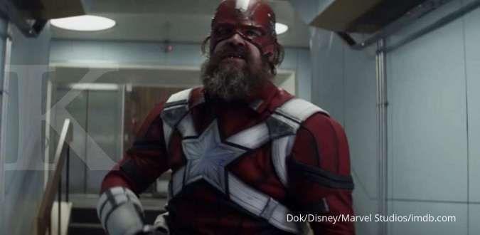 Captain America versi Rusia, ini penampilan David Harbour sebagai Red Guardian di film Black Widow